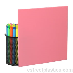 Pink plexiglass ( aka acrylic ) is a versatile colored plastic ...