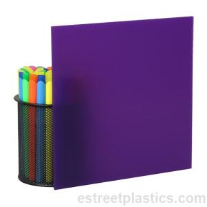 1 8 X 12 X 24 2287 Solid Purple Plexiglass Acrylic Sheet