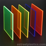 Fluorescent Plexiglass Acrylic - SAMPLE CHIP SET