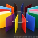 Colored Plexiglass (Solids) - SAMPLE CHIP SET