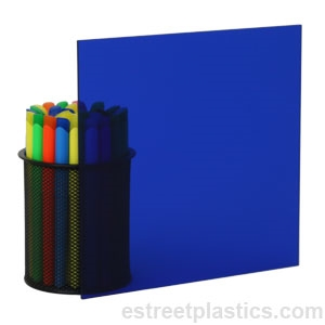 "Blue-Dark Translucent Acrylic Plexiglass sheet 1//16/"" x 6/"" x 12/"" #2114"