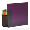 "1/8"" x 6"" x 12"" Transparent Purple Plexiglass Acrylic Sheet (DARK) - #3730"