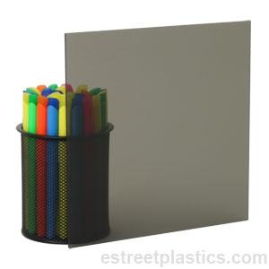 Grey Smoked Transparent Plexiglass Acrylic