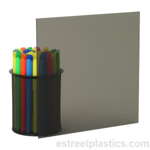 1 8 Thick 24 X 48 2064 Grey Smoked Plexiglass Acrylic Sheet