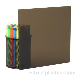 "1//8/"" x 12/"" x 12/"" Clear Acrylic Plexiglass Sheet"
