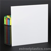 "1/2"" x 6"" x 12"" - White Plexiglass Acrylic Sheet - #7328"