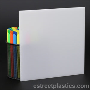 1 8 Thick 24 X 24 2447 White Plexiglass Acrylic Sheet