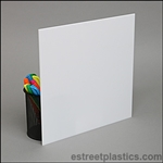 Sample Chip - White P95 Cast Plexiglass -  #7328
