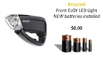 Recycled Front ELOY LED bicycle headlight