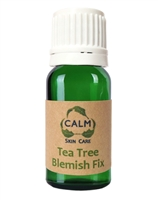 CALM Natural Eco Friendly Skin Care Tea Tree Blemish Fix