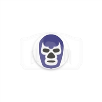 "Luchador - Blue Demon 1"" (Inch) Button"
