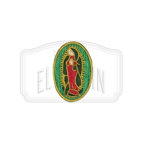 Virgen de Guadalupe Mini Embroidered Patch