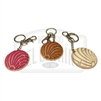 "Pan Dulce (Soft Rubber) ""Concha"" Key Chain"