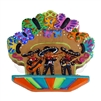 """Mariachi"" (Cookie) Clay Magnet"