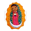 """Virgencita"" (Cookie) Clay Magnet"