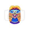 """Catrina de Barro"" (Cookie) Clay Magnet"