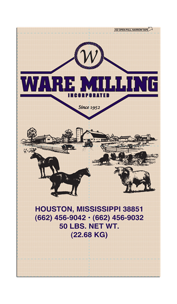 WARE MILLING 12% WARE ALL STOCK SWEET FEED