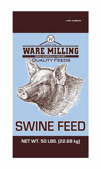 WARE MILLING 12% HOG FINISHER PELLET