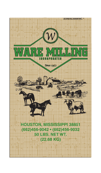 WARE MILLING 16% HEIFER DEVELOPER