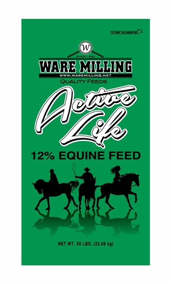 WARE MILLING 12% ACTIVE LIFE