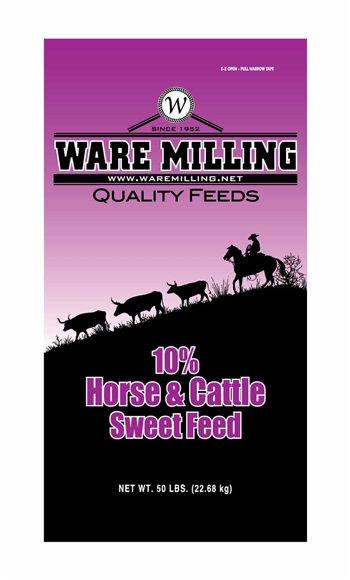 WARE MILLING 10% HORSE & CATTLE