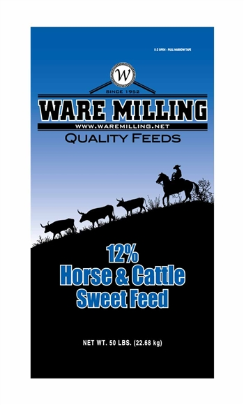 WARE MILLING 12% HORSE & CATTLE
