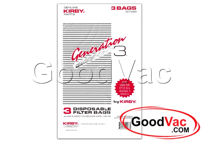 Generation 3 Kirby Bags Pack