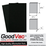 Sharp FP-A40UW carbon filter by Goodvac, replaces FZ-A40SFU deodorizing filter