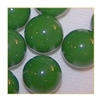 14mm Opal/Solid Green Marbles 1 lb Approximately 120 Marbles