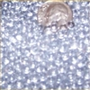 Clear 5mm Micro Round Marbles 44 lbs