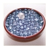Clear 8mm No Hole Glass Deco Beads Mini Marbles 1 lb Approx 660 Beads/Marbles