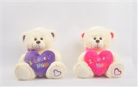 "12"" TEDDY BEARS ""I LOVE YOU MOM"" <b class='icon-coming-soon'></b>"