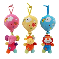 "17"" FUNTIME INTERACTIVE BABY MUSICAL PULL STRING W/""LULLABY"" (2)"