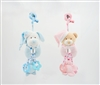 "11"" BABY RATTLE WITH HEAD CLIP TEETHER & HEADER (2)"