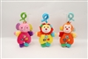 "7.5"" BABY INTERACTIVE SHAKER W/RATTLE-HEAD CLIP & HEADER (3) <b class='icon-new-product'></b>"