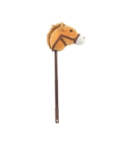 "36"" LIGHT BROWN ADJUSTABLE HORSE STICK  WITH SOUND  (1) <b class='icon-new-product'></b>"