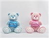 "9.5"" BABY BOY & BABY GIRL TEDDY (2) <b class='icon-new-product'></b>"