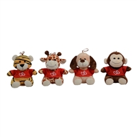 "6.5"" ELIAS WILD ANIMALS WITH RED SHIRT (4)"