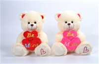 "12"" SHINO BEAR WITH TWO HEARTS(2) <b class='icon-new-product'></b>"