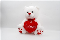 "16"" LEXI  BEAR WITH HEART(1)"