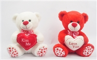 "10"" VAL BEARS ""KISS ME & LOVE YOU"" (2) <b class='icon-coming-soon'></b>"