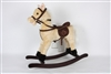 "29"" BEIGE ROCKING HORSE W/GALLOPING SOUND<b class='icon-new-product'></b>"