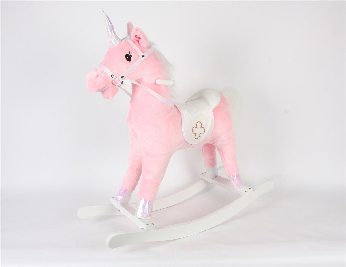 Linzy 21 Horse Baby Rocker W//Safety Belt