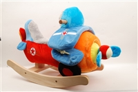 "22"" AIRPLANE ROCKER COLLECTION WITH NURSERY RHYME SOUND (1)"