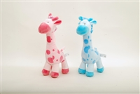 "12"" PINK AND BLUE GIRAFEE (2)"