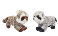 "9"" FUFU AND FUZZBALL STANDING RACCOON (2)"