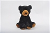 "9"" CHEEKY SITTING BLACK BEAR"