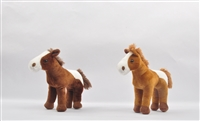"9"" BROWN & DARK BROWN HORSE <b class='icon-new-product'></b>"