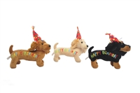 "12"" HAPPY BIRTHDAY DOG (3) <b class='icon-new-product'></b>"