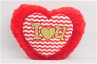 "12"" x 14"" RED HEART PILLOW (1)"